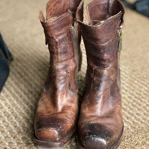 Short Frye Boots size 7